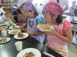 岩手県・小鳥谷(こずや)小学校で開催の「夏休み子供食育教室」に協賛しました