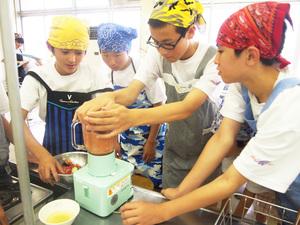 岩手県・松園中学校で開催の職業体験教室に協賛しました