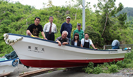 宮城県の漁業復興の支援