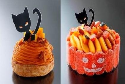 10月1日、アンリ・シャルパンティエからハロウィン限定ケーキが登場!