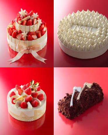 アンリ シャル バン ティエ クリスマス ケーキ
