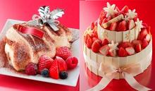 アンリ・シャルパンティエ&シーキューブのクリスマスケーキ、11月1日(日)より予約受付開始