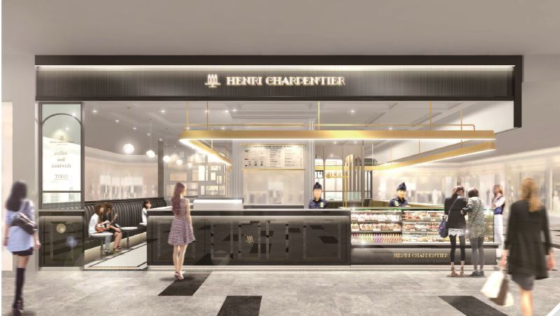 シンガポールのビジネス街・タンジョンパガーにアンリ・シャルパンティエの海外3号店がオープンします。
