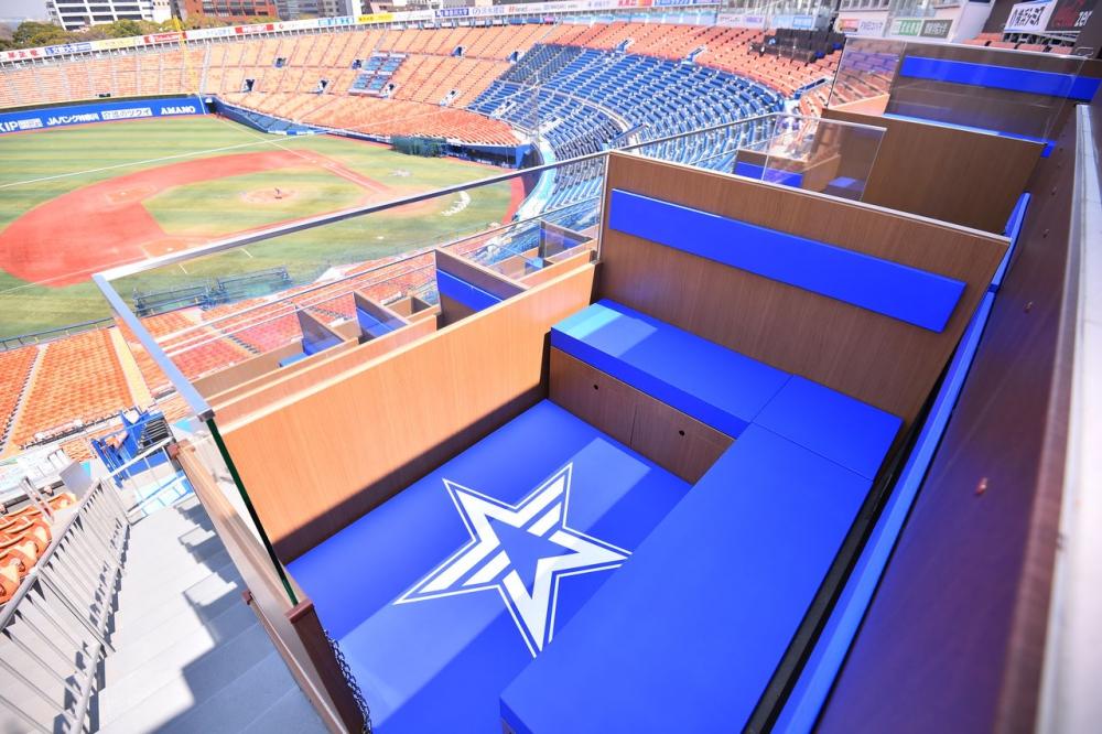 横浜スタジアムに「C³(シーキューブ)ティラミス リビングBOXシート」が誕生します!
