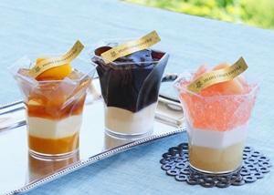 アンリ・シャルパンティエが6/1に混ぜて味わうひんやりゼリー「シャッフル・ヴェリーヌ」を発売