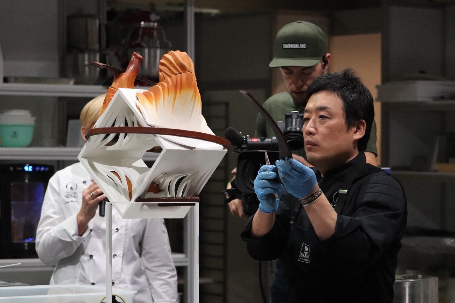 「ワールドチョコレートマスターズ2018」で弊社テクニカル・アドバイザー・垣本晃宏が世界4位に輝きました!