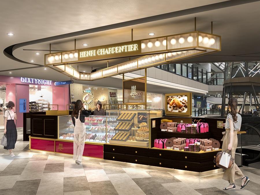2020年8月21日(金) シンガポールのグレート・ワールド・シティ内に「アンリ・シャルパンティエ」新店OPENいたします!