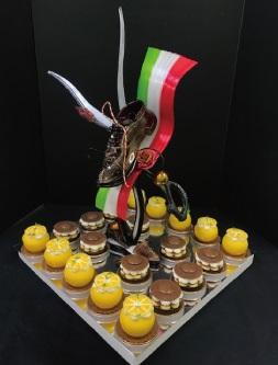 日本洋菓子協会連合会主催第27回 ルクサルド・グラン・プレミオ決勝大会で弊社の菅原聡倫が決勝大会で2位に入賞いたしました。