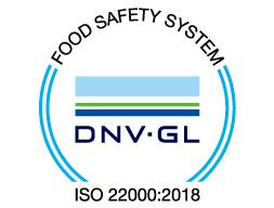 今まで以上の「食の安全と安心」を実現するため、「ISO22000」の認証を取得いたしました