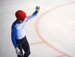 株式会社シュゼット・ホールディングス所属のスピードスケートショートトラック選手、 小山 陸が第66回西日本ショートトラックスピードスケート選手権大会で男子総合優勝!