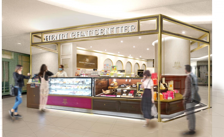 【海外新店情報】アンリ・シャルパンティエ  シンガポール4店舗目 ニーアンシティにOPEN